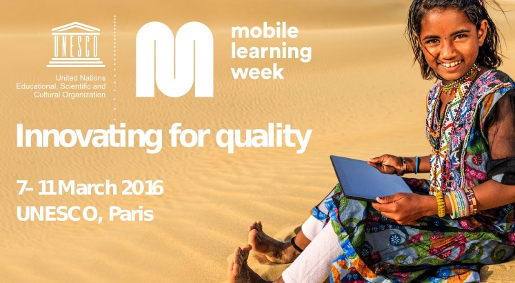 Mobile Learning Week 2016 con participación de la Cátedra UNESCO