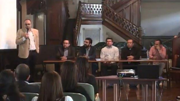 """Cátedra UNESCO en la Conferencia """"Nuevas tendencias en la educación virtual, los MOOC y el homeschooling"""", organizado por la Fundación Universitaria Católica del Norte"""