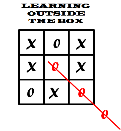 LEARNING outside the box
