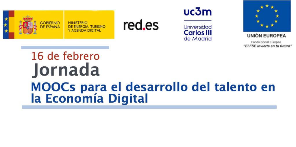 """Carlos Delgado Kloos, director de la Cátedra UNESCO, participa en el evento """"MOOCs para el desarrollo del talento en la Economía Digital"""""""