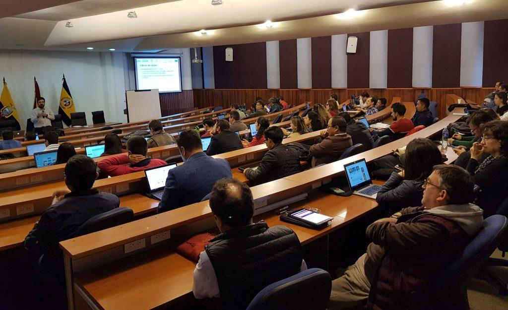 La Cátedra UNESCO imparte un taller sobre MOOCS en la Universidad Politécnica Salesiana de Ecuador