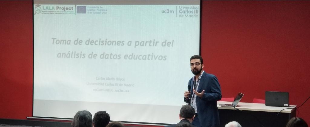 """La Cátedra UNESCO participa con una ponencia invitada en la """"II Conferencia Latinoamericana de Analíticas de Aprendizaje (LALA 2019)"""""""