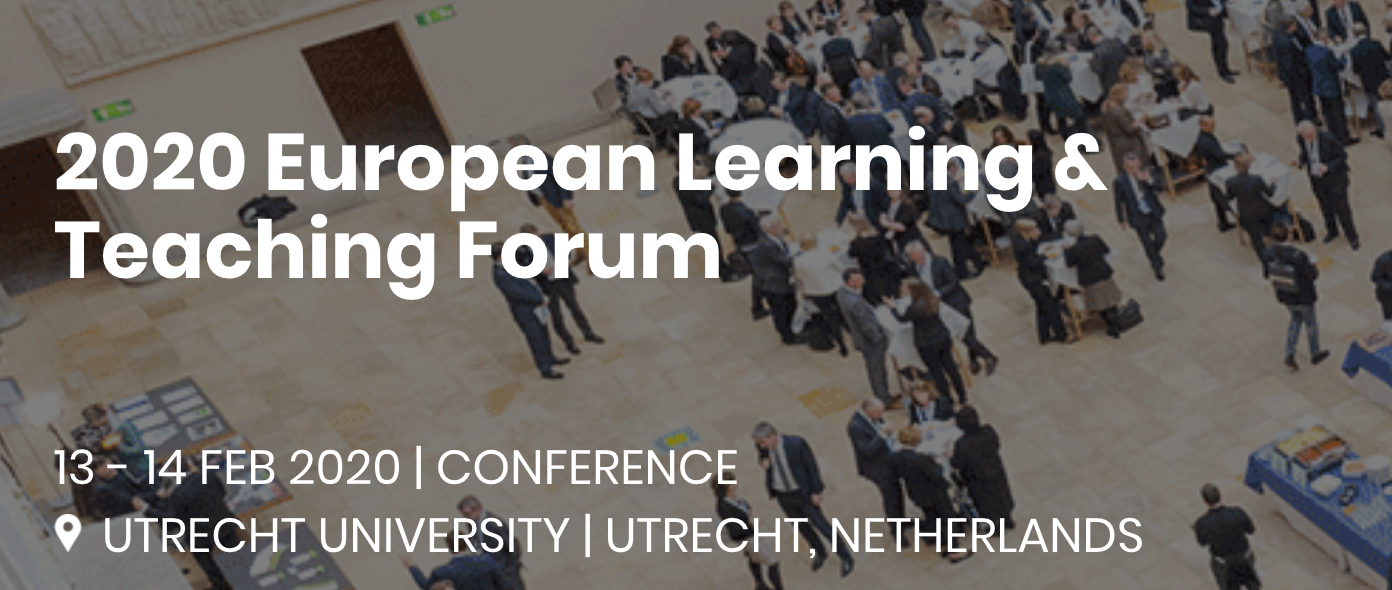 2020 European Learning & Teaching Forum