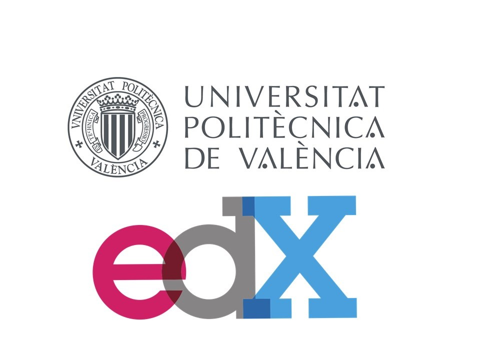 logo upv y edx