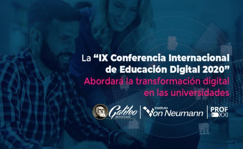 """La Cátedra UNESCO participa en la """"IX Conferencia Internacional de Educación Digital 2020"""""""